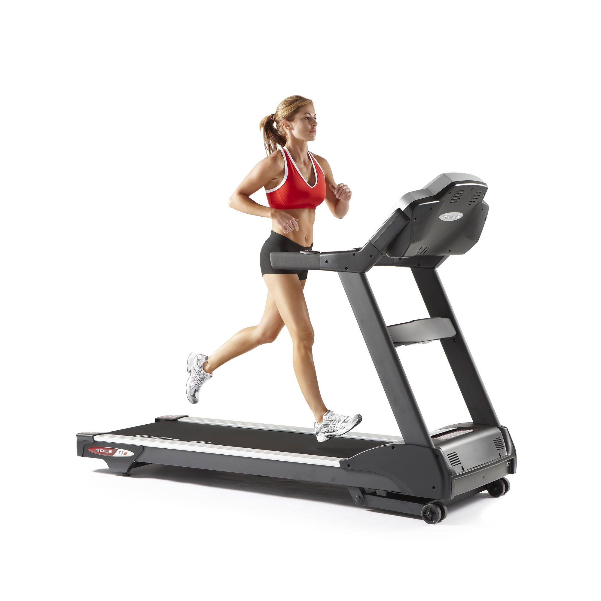 Sole Treadmill S77: Sole Fitness TT8 Light Commercial Platform Treadmill
