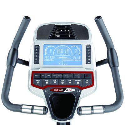 Sole B94 Upright Exercise Bike - Console