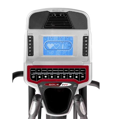 Sole E25 Cross Trainer - screen