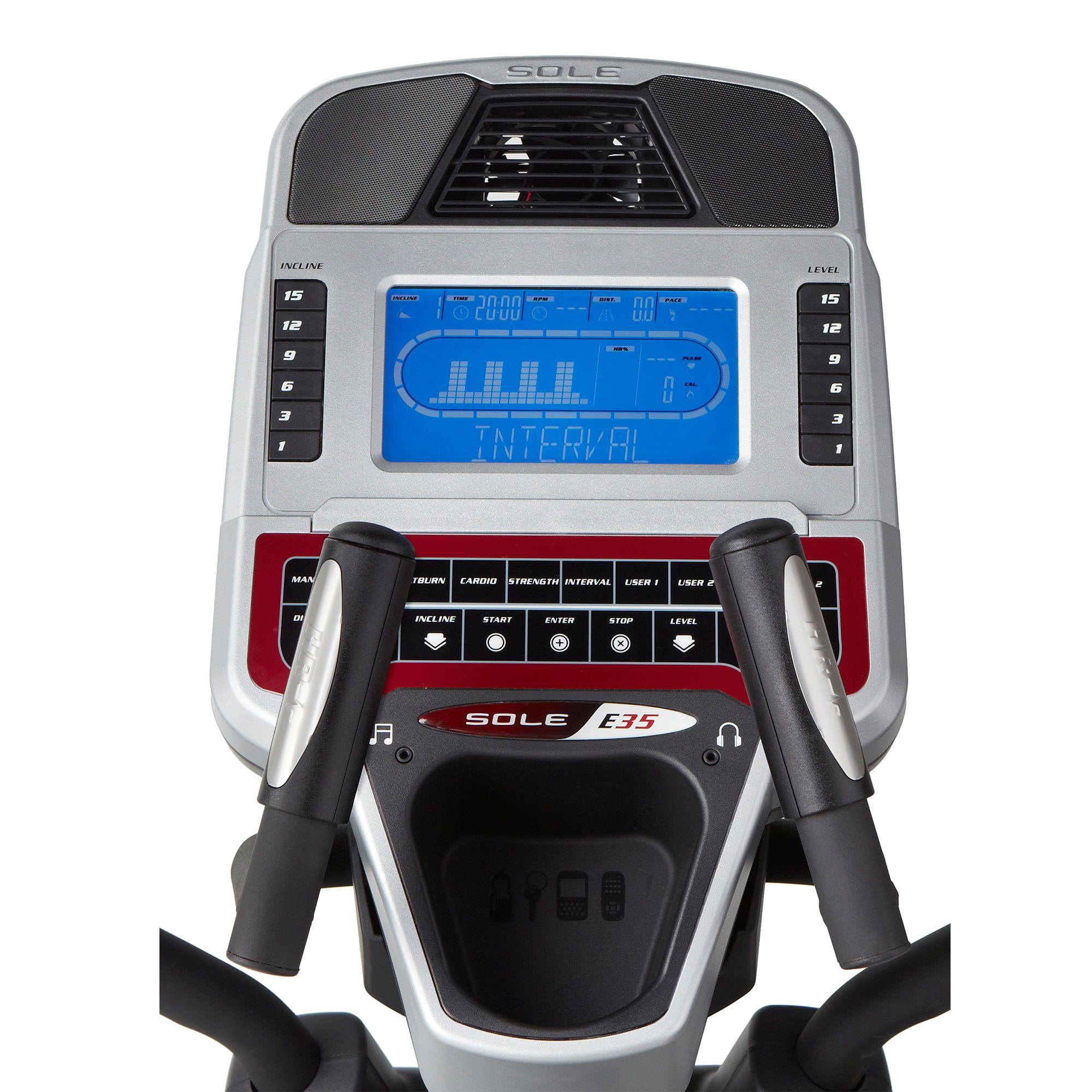 Sole E35 Elliptical Cross Trainer Sweatband Com