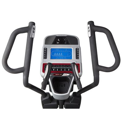 Sole E35 Elliptical Cross Trainer - Console View Image