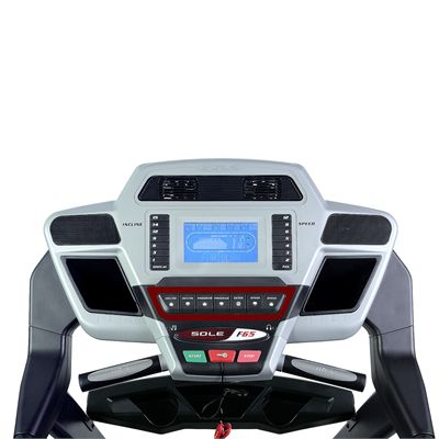 Sole F65 Treadmill - Console