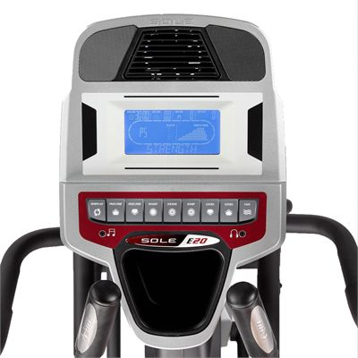 Sole E20 Cross Trainer - Console