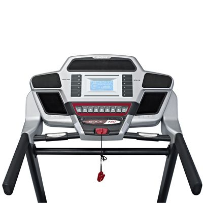 Sole F60 Treadmill - Console