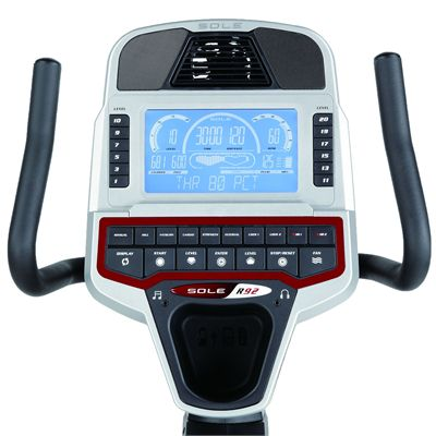 Sole R92 Recumbent Exercise Bike - Console