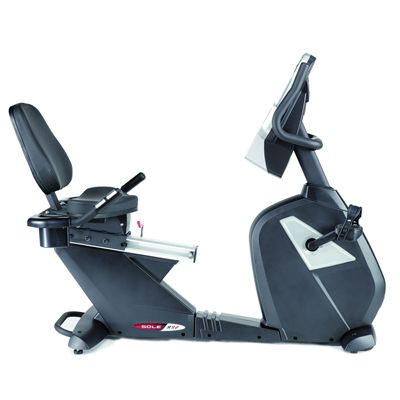 Sole R92 Recumbent Exercise Bike - Side View