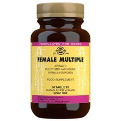 Solgar Female Multiple Multivitamin and Mineral Formula - 60 Tablets