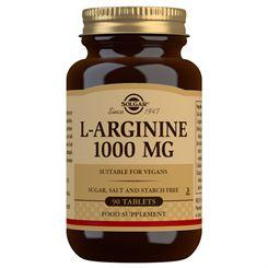 Solgar L-Arginine 1000mg - 90 Tablets