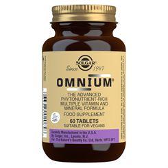 Solgar Omnium Vitamin and Mineral Formula - 60 Tablets