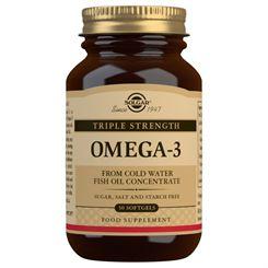 Solgar Triple Strength Omega-3 - 50 Softgels