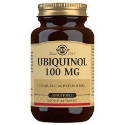 Solgar Ubiquinol 100mg - 50 Softgels
