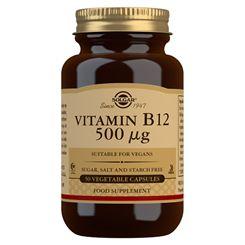 Solgar Vitamin B12 - 50 Capsules