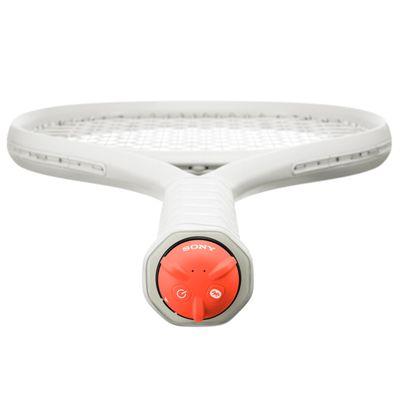 Sony Smart Tennis Sensor - In Use