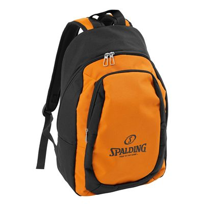 Spalding Backpack Essential Black Orange