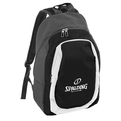 Spalding Backpack Essential Black Silver