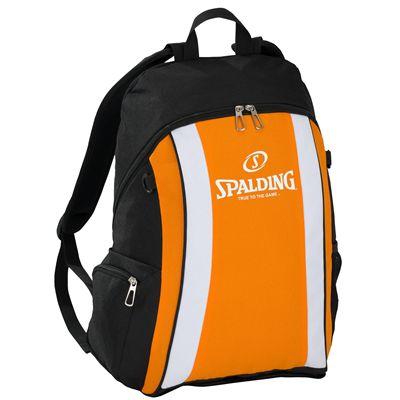 Spalding Backpack SS17 - Black/Orange