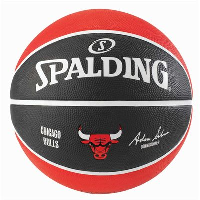 Spalding Chicago Bulls NBA Team Basketball - Back