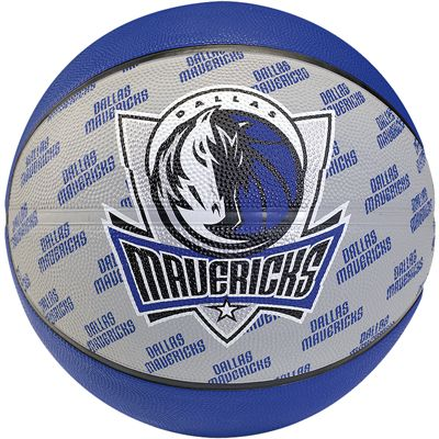 Spalding Dallas Mavericks Team Basketball - Size 5
