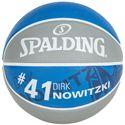 Spalding Dirk Nowitzki Basketball - Back