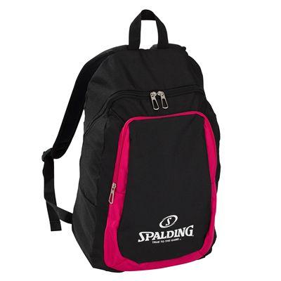 Spalding Essential Backpack- Black/Pink