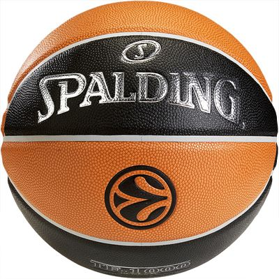 Spalding Euroleague TF 1000 Basketball Front View