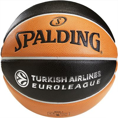 Spalding Euroleague TF 1000 Basketball Rear View