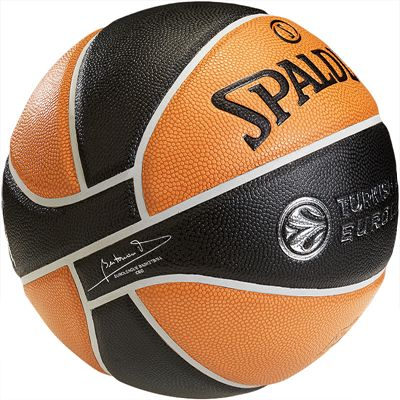 Spalding Euroleague TF 1000 Basketball Side View