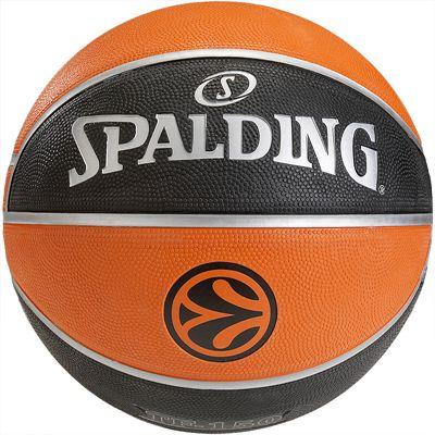 Spalding Euroleague TF 150 Outdoor Basketball Front View