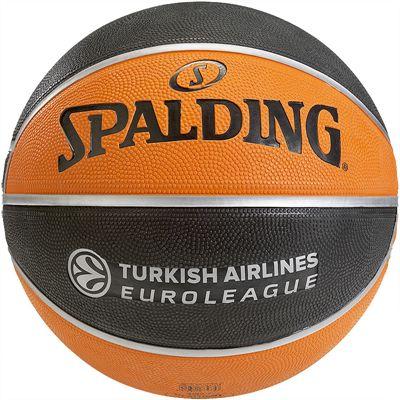 Spalding Euroleague TF 150 Outdoor Basketball Rear View
