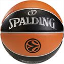 Spalding Euroleague TF 500 Indoor-Outdoor Basketball Front View