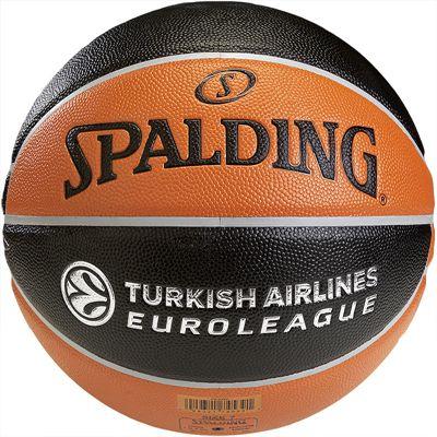Spalding Euroleague TF 500 Indoor-Outdoor Basketball Rear View