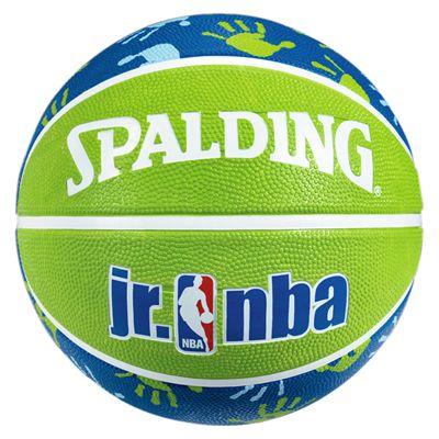 Spalding Junior NBA Basketball - Green-Blue