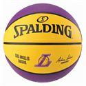 Spalding LA Lakers NBA Team Basketball - Back
