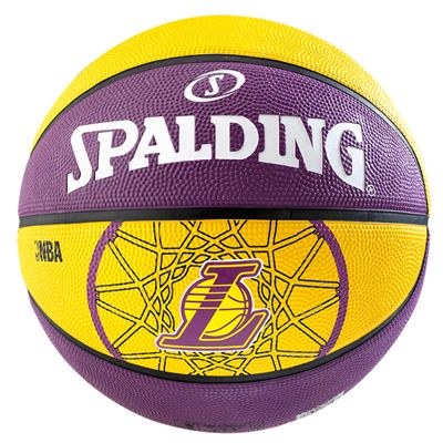 Spalding LA Lakers Team Basketball Image