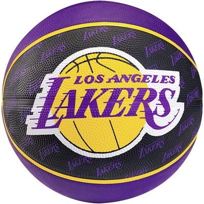 Spalding LA Lakers Team Mini Basketball