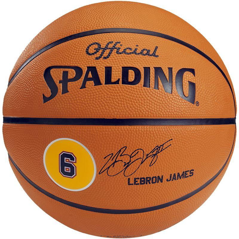 spalding lebron james basketball. Black Bedroom Furniture Sets. Home Design Ideas
