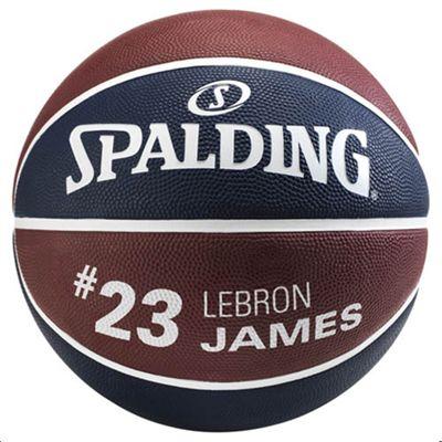 Spalding LeBron James Basketball - Back