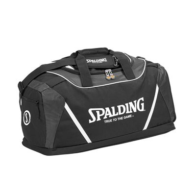 Spalding Medium Sports Bag Black