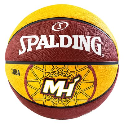 Spalding Miami Heat Team Basketball - Size 7
