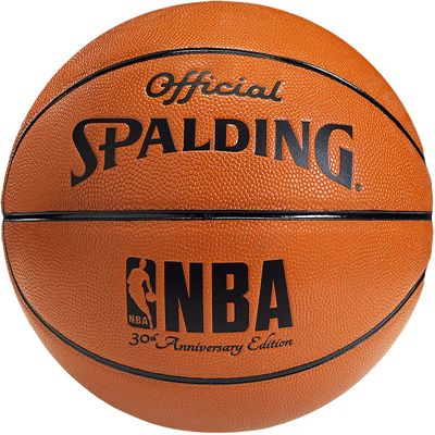 Spalding NBA 30 Years Basketball Front View