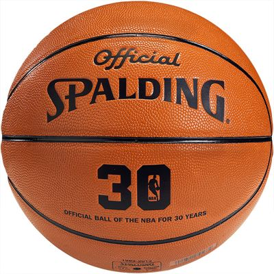 Spalding NBA 30 Years Basketball Rear View