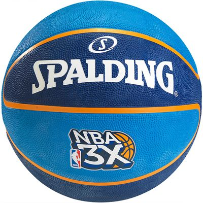 Spalding NBA 3X Basketball Front View