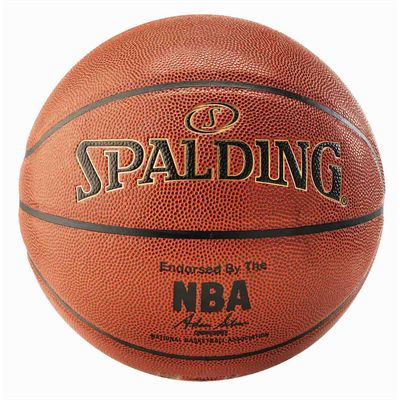 Spalding NBA Gold Basketball - Back