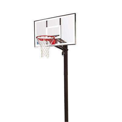 Spalding NBA Gold In Ground Basketball Hoop