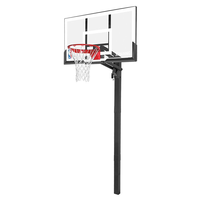 Spalding NBA Gold In Ground Basketball System
