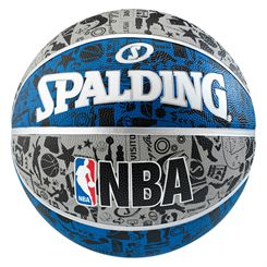 Spalding NBA Graffiti Outdoor Basketball