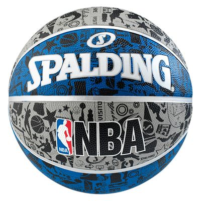 Spalding NBA Graffiti Outdoor Basketball - Size 7