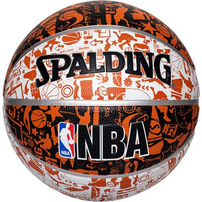 Spalding NBA Graffiti Outdoor Basketball Ball