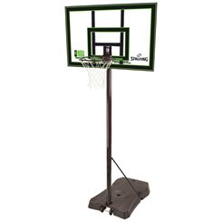 Spalding NBA Highlight Acrylic Portable Basketball System