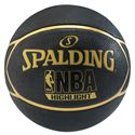 Spalding NBA Highlight Outdoor Basketball - Black and Gold